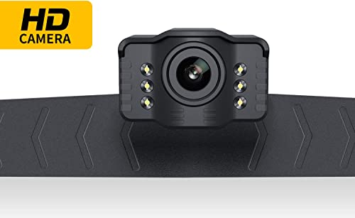 Car Backup Camera Rear View S2 Reverse Backing Up Camera by Xroose 2.0 Generation HD 6 LED Lights for Night Vision IP69K Waterproof License Plate 149 Wide View for Car Pickup Van SUV Truck RV,12-24V