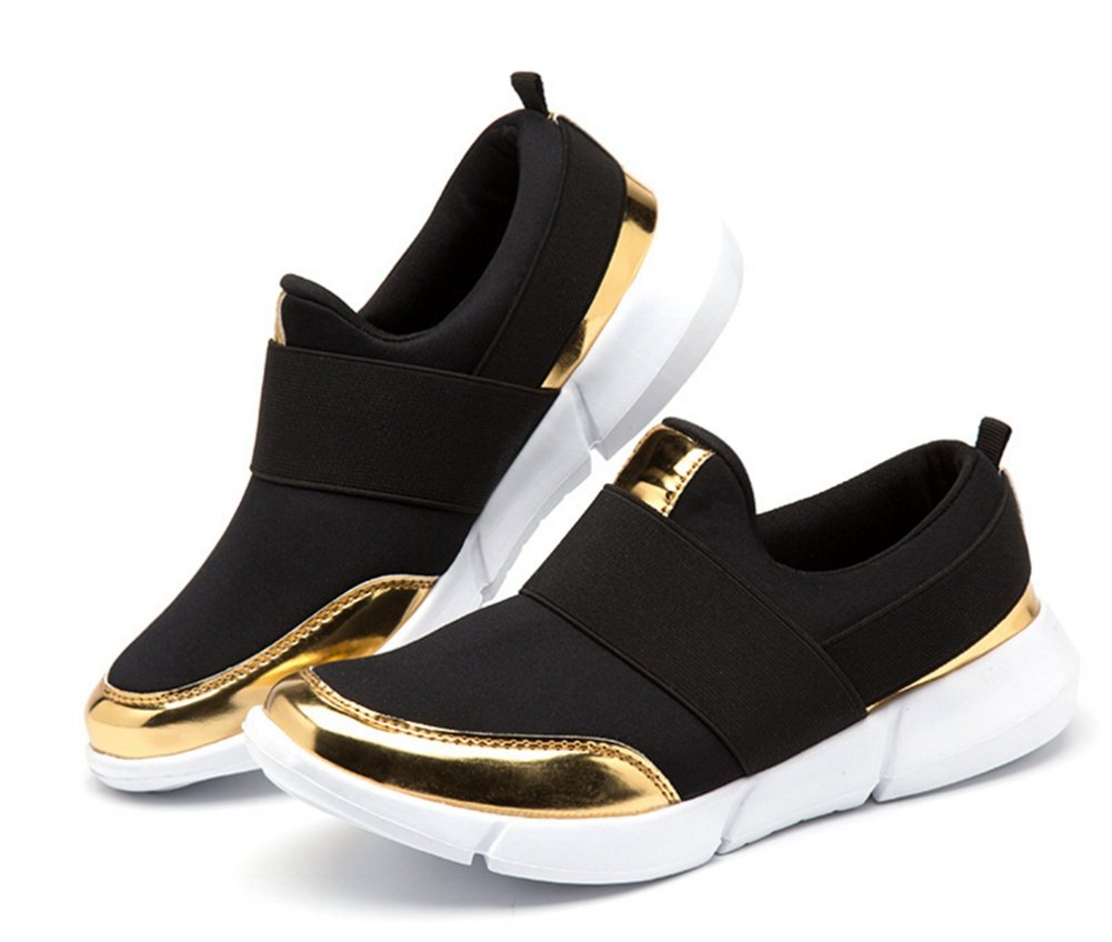 QI2 Atmungsaktive Schuhe der beiläufigen beiläufigen beiläufigen Schuhe der Schuhe der Frauen weichen die Laufschuhe des weichen unteren Sportes der Frauen große Größe 35-41 c305a3