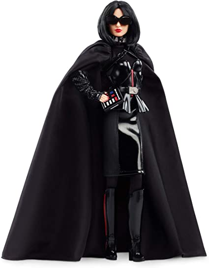 STAR WARS x BARBIE Darth Vader Barbie Limited Edition Doll FREE TWO DAY SHIPPING
