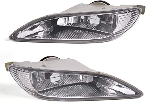 Sale 1 PCS Fog Lamp Light Cover LEFT DRIVER SIDE For 2005-2008 Toyota Corolla