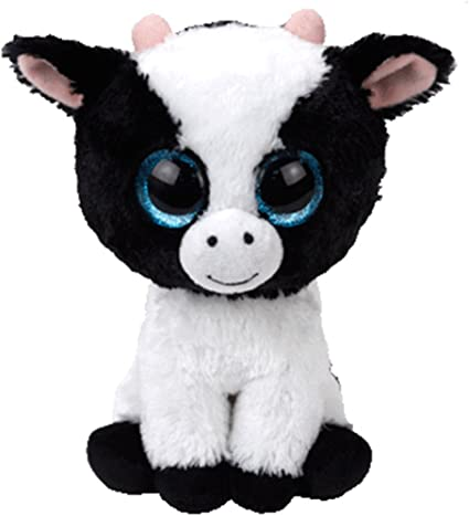 Alaska Stuffed Animals, Amazon Com Ty Beanie Boos Cow Butter 6 Reg Plush Free Gift With Purchase Toys Games