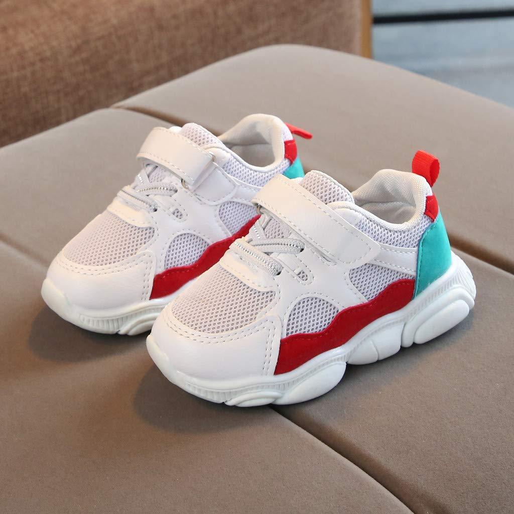 Toddler Kids Sneakers Running Shoes Lightweight Cartoon Bear Sole Mesh Breathable Sport Shoes Memela