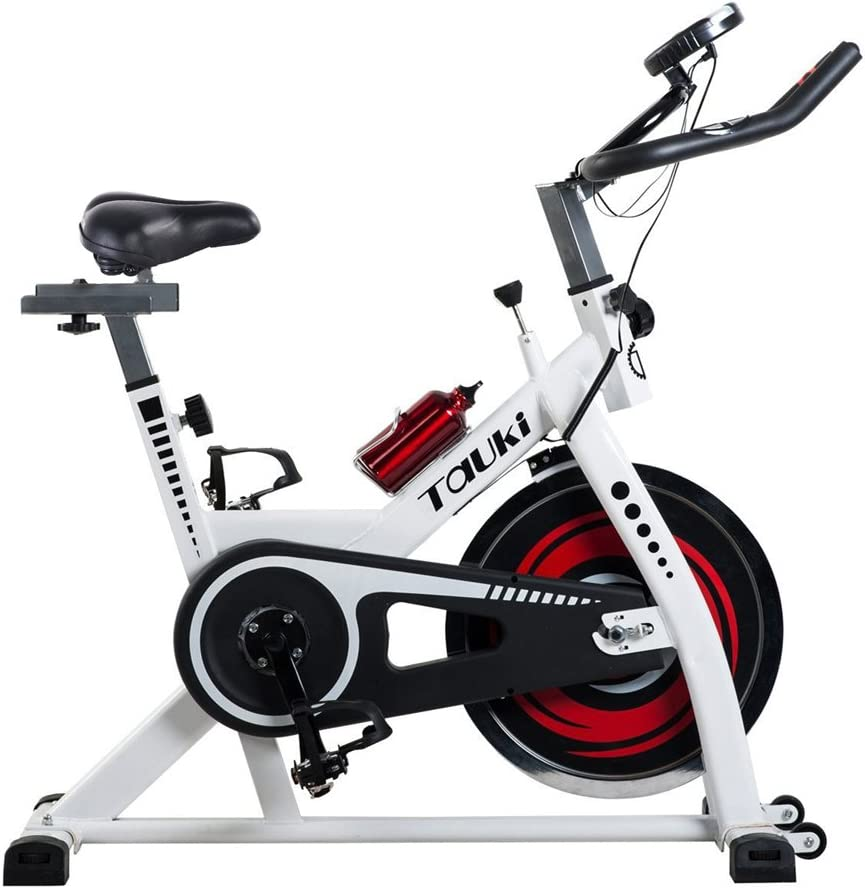 tauki interior salud y Fitness bicicleta estática con LCD Monitor ...