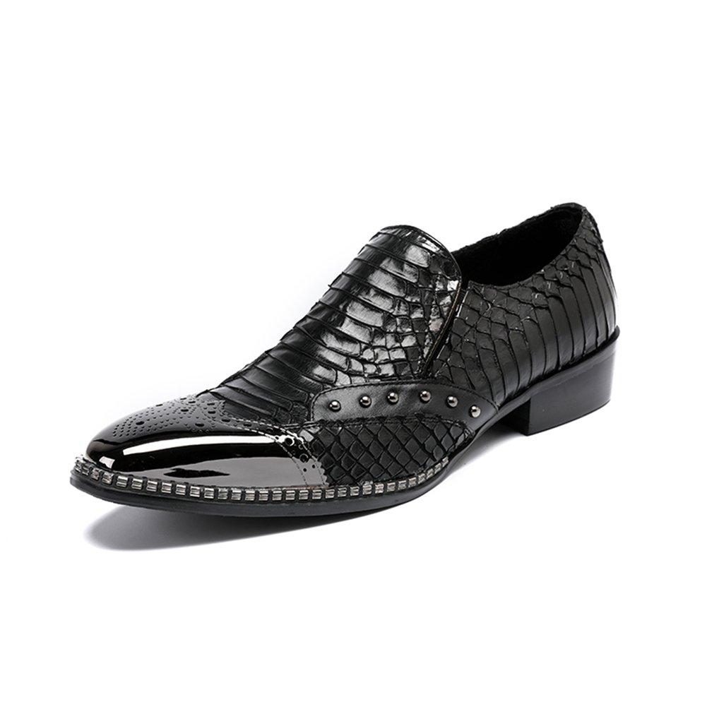GFP 2018 Herren Lederschuhe, Loafers Schuhe, Herren Casual Lederschuhe, Frühling Herbst Erbsen Schuhe