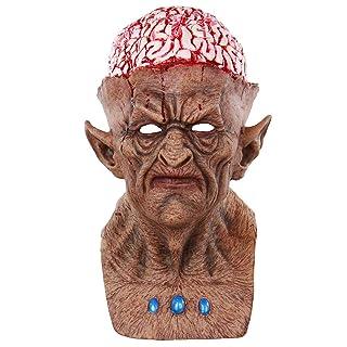 BESTOYARD Maschere di Halloween Spaventoso Maschera di lattice Devil Maschera Cosplay Spaventoso Costumi di Halloween Forniture per feste di Halloween Bomboniere