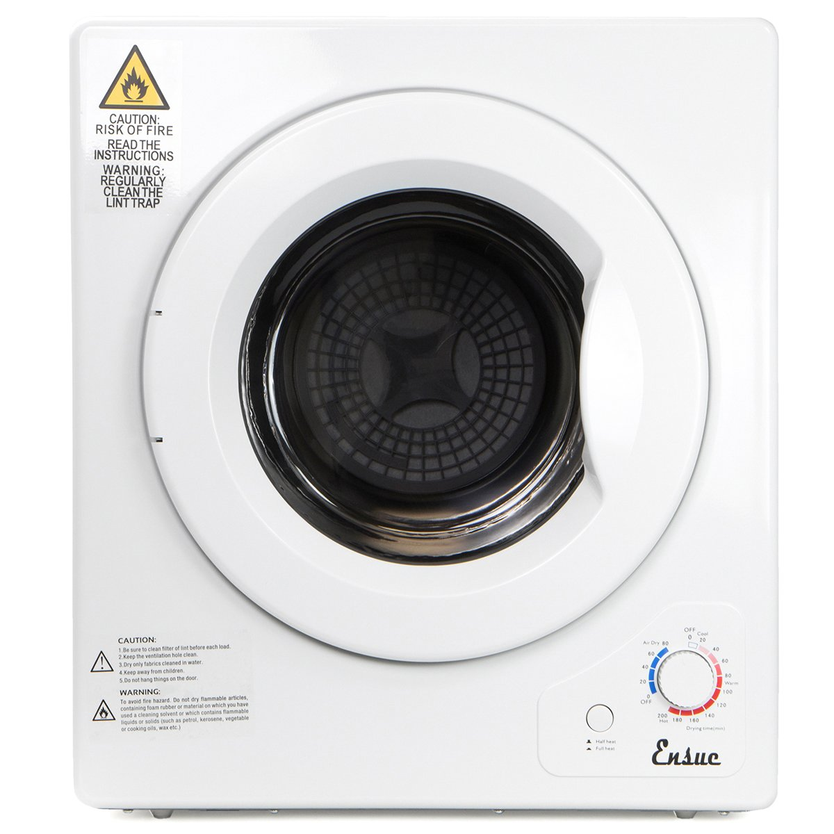 XtremepowerUS Stainless Steel Tumble Cloths Dryer Compact Dryer