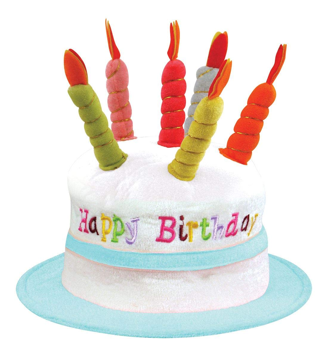 Rimi Hanger Mens Womens Birthday Cake Hat With 6 Candles