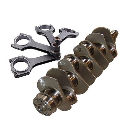 maXpeedingrods EN24 Billet Crank Crankshaft and Connecting Rods for Fiat 128 Punto GT 1.4 67.4mm