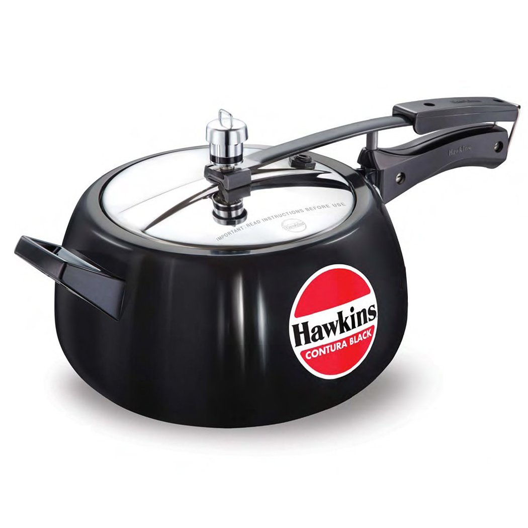 Hawkins Contura 5 Liters Hard Anodized Pressure Cooker by Mercantile International CB50