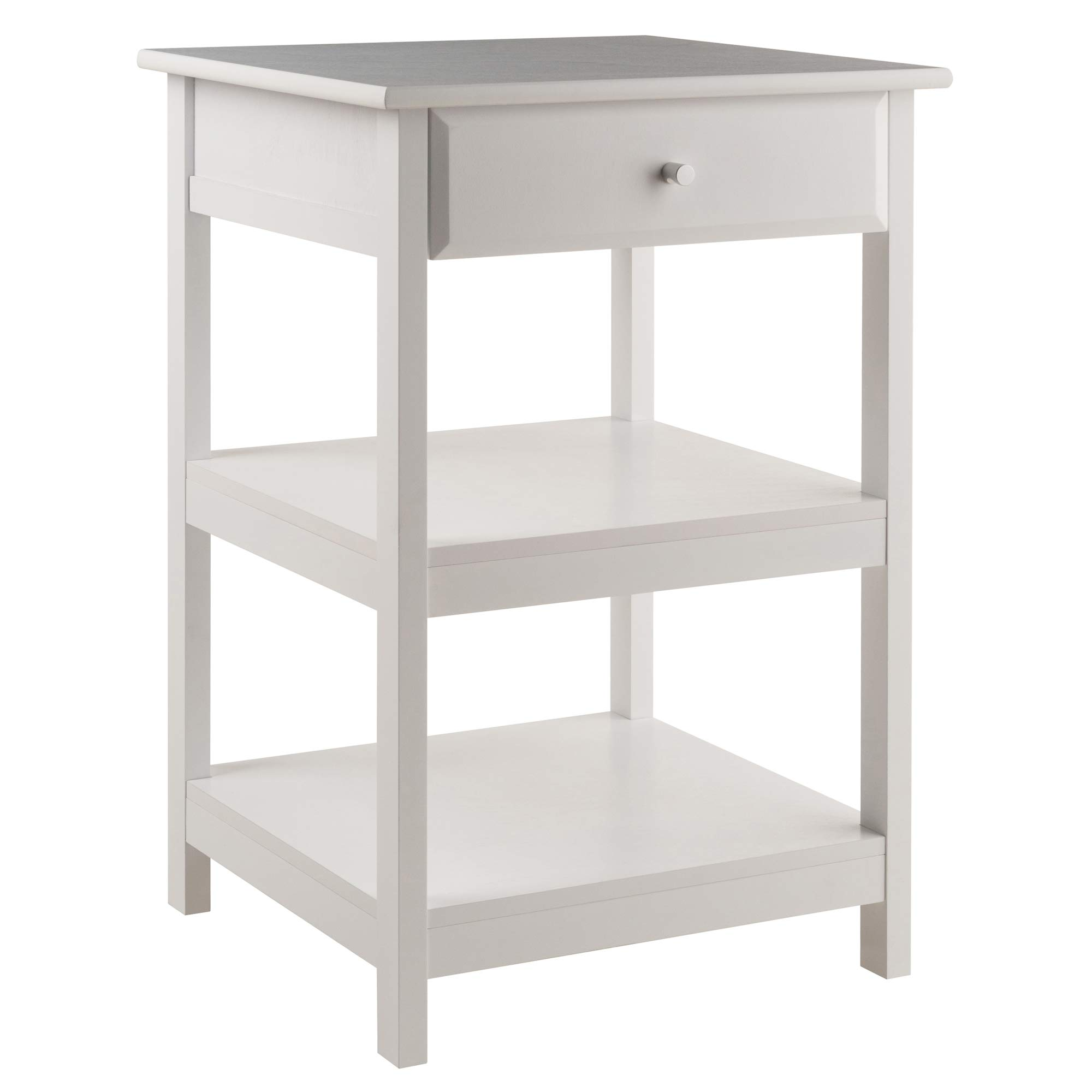 Winsome Delta Printer Stand White Home Office by Winsome