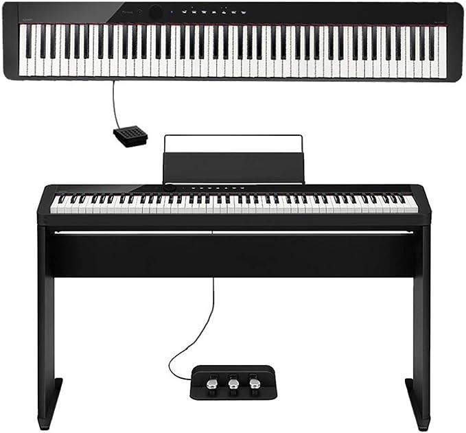 yankai Teclado De Piano Digital con 88 Teclas Semi Piano ...