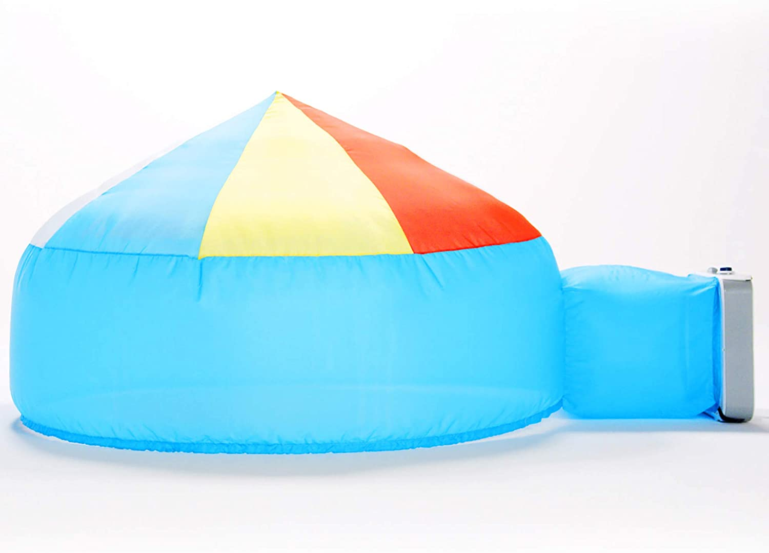 The Original AirFort Build A Fort in 30 Seconds, Inflatable for Kids, Beach Ball Blue