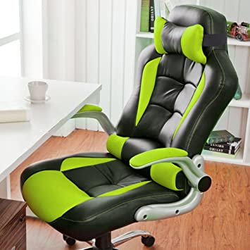 Office Chair Desk Chair Racing Chair Computer Chair With High Back - Computer chair uk