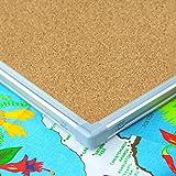 Lockways Dry Erase Board & Cork Bulletin Board