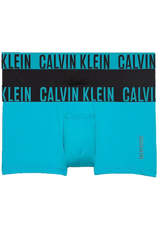 Calvin Klein UNDERWEAR メンズ B078X21VX9  ブラック/ブルー X-Large