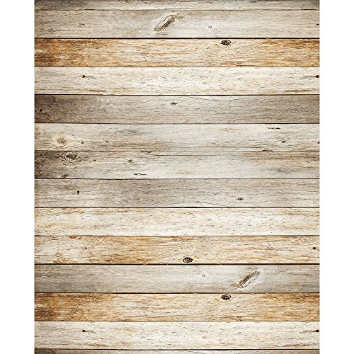 Reclaimed Wood Photography Backdrop - Rubber-Backed Floor Mat - 4ft x 5ft - Backdrop Express]()