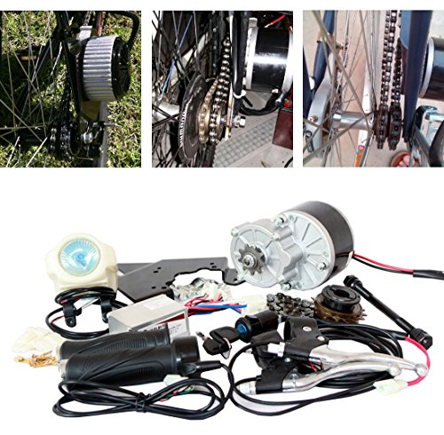24V 250W Electric Motorized E-Bike Bicycle Conversion Kit ( SIDE-MOUNTED ) Electric Bicycle Motor Kit Cheapest E-Bike Brushed Motor Set MY1016