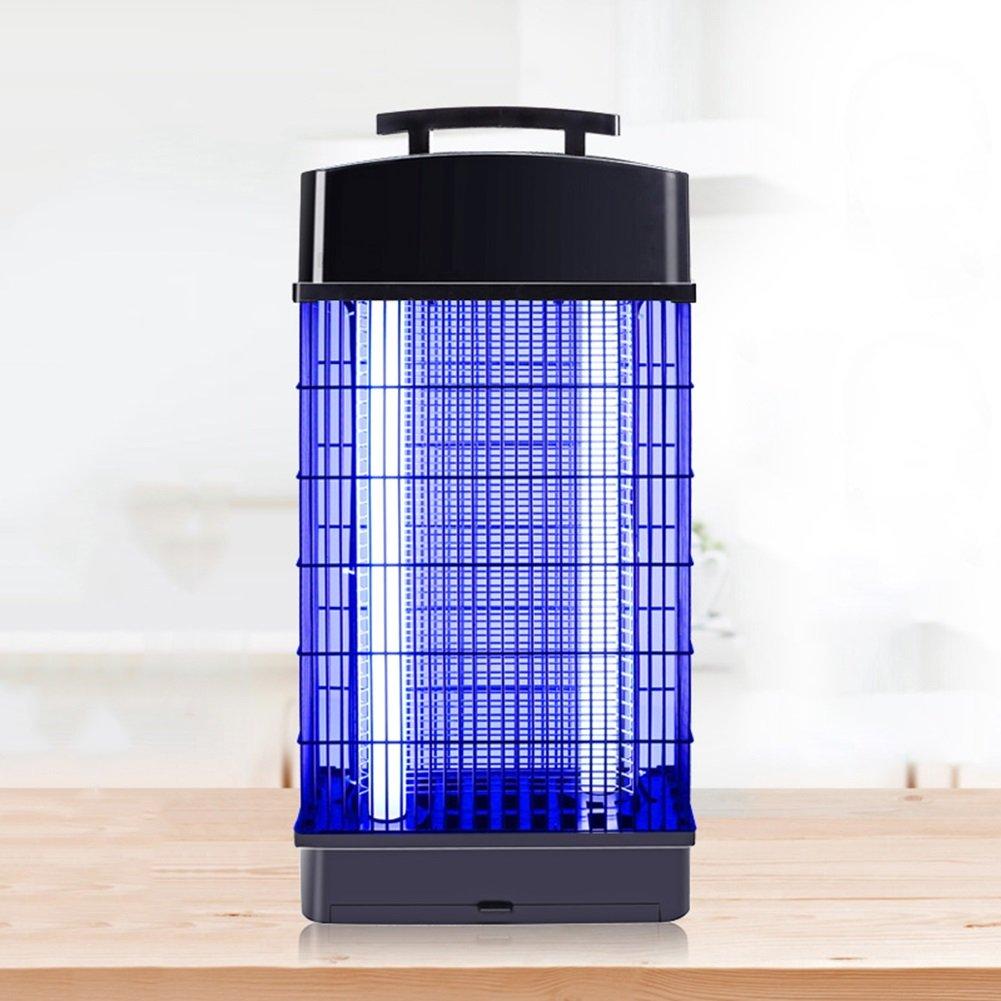 LIQICAI 蚊ランプ殺虫灯 ポータブル UV 電気ショックキル昆虫 ソケット110V ハンギングチェーンフレーム、 3サイズオプション (色 : 1, サイズ さいず : 20x12x40cm) B07D9PF5NW 1 20x12x40cm