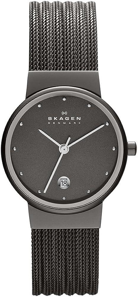 Skagen Reloj de pulsera para Mujer de Cuarzo con Correa en Acero inoxidable DW0335