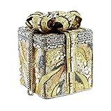 Mary Frances Golden Gift Holiday Christmas Handbag Bag Beaded New