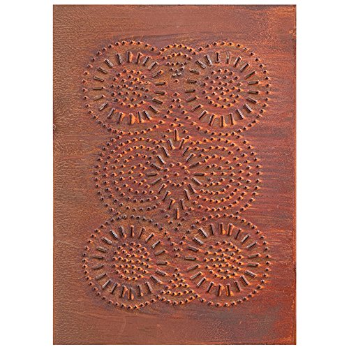 Sturbridge Panel in Rustic Tin by Irvin's Country Tinware