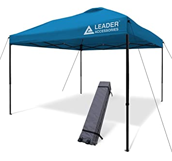Leader Accessories Instant Pop Up Canopy Straight Leg Wheeled Carry Bag Included  sc 1 st  Amazon.com & Amazon.com : Leader Accessories Instant Pop Up Canopy Straight Leg ...