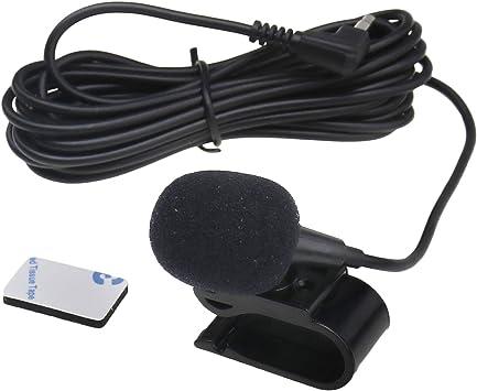 1x 3m 3 5mm Universal Externes Mikrofon Mic Für Auto Stereo Ersatz Set Baumarkt