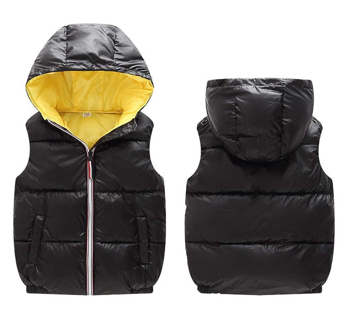 ZIYOYOR Baby Girls Warm Winter Faux Fur Coat Knit Outerwear Jacket