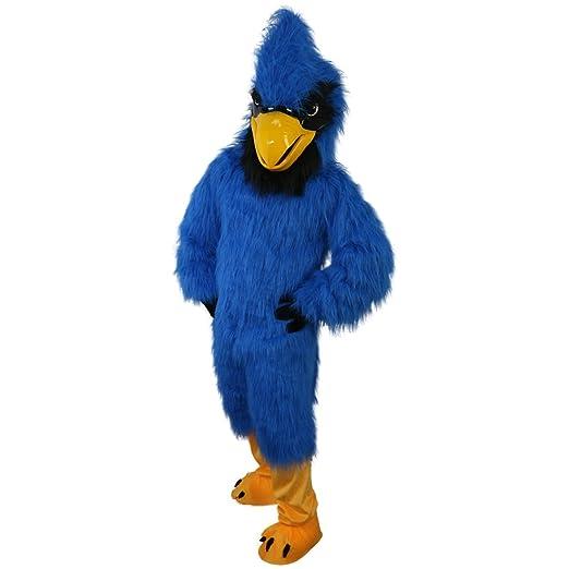Langteng - Disfraz de pájaro de águila azul con dibujos animados ...