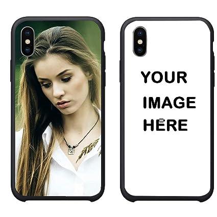 Amazon.com: Carcasa personalizada para iPhone X con imagen ...