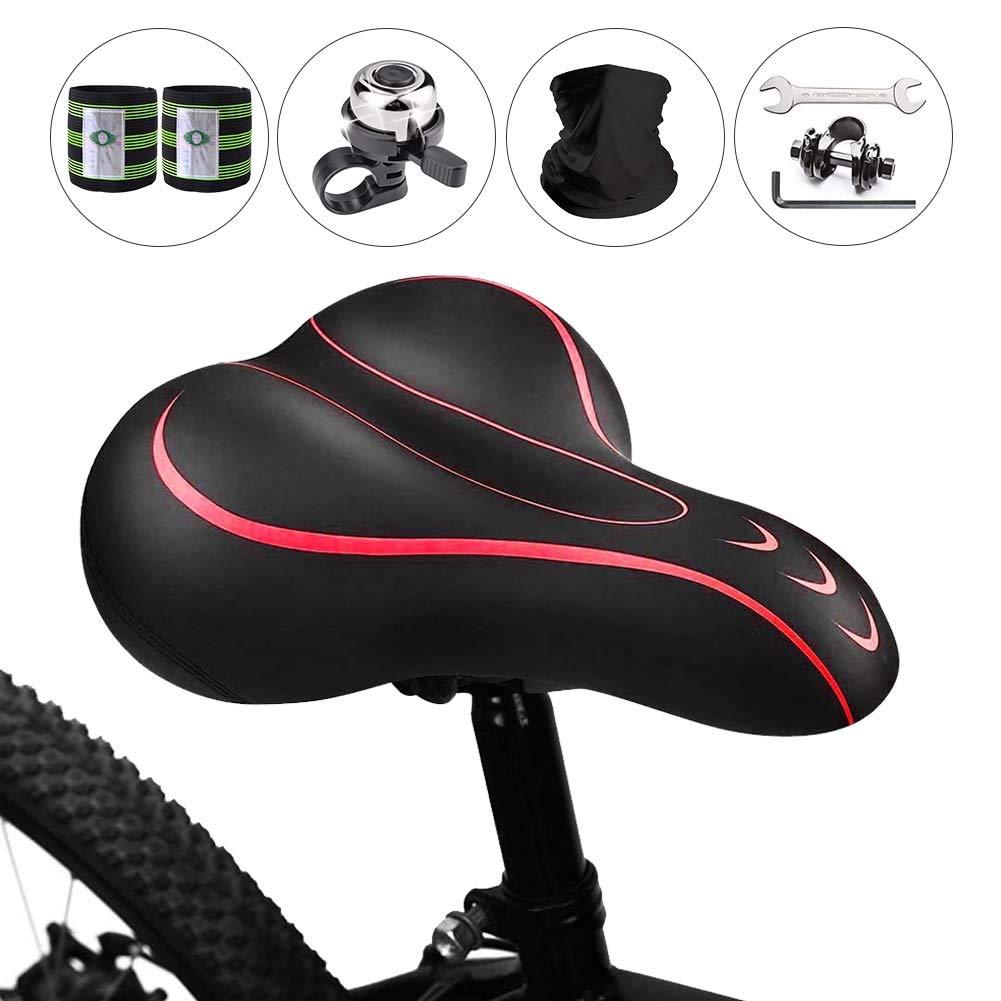 Asiento Bicicleta Karetto para Mujer Hombre-Reemplazo -NG2Q