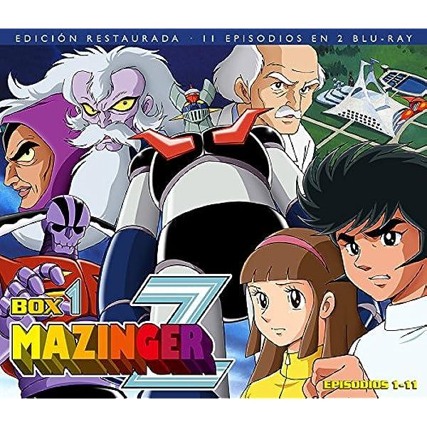 Mazinger Z Box 1 - Bd [Blu-ray]: Amazon.es: Animación, Tomoharu Katsumata, Animación, N/A: Cine y Series TV
