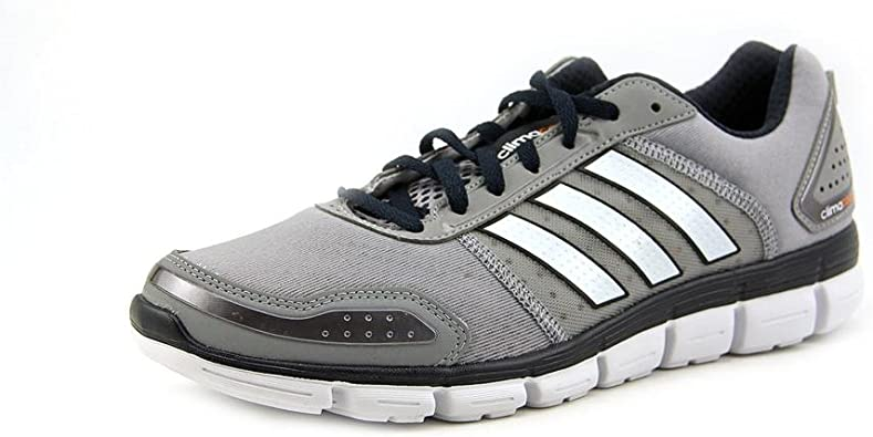 Adidas Mens Climacool Aerate 3 Running Shoes Mid Grey/White/Black ...