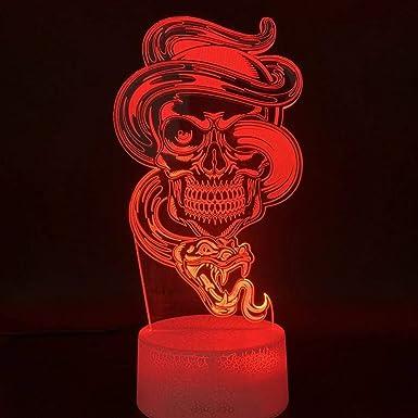 lampe tête de mort 2