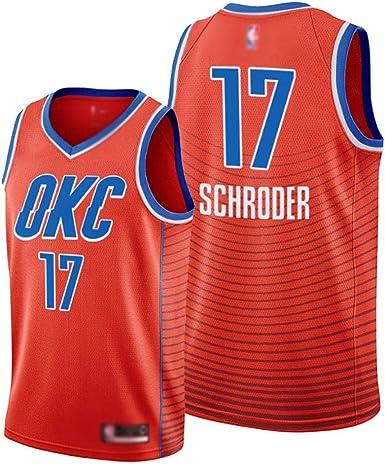 WWSC Jersey # 17 Dennis Schroder Fans Camiseta de Baloncesto ...