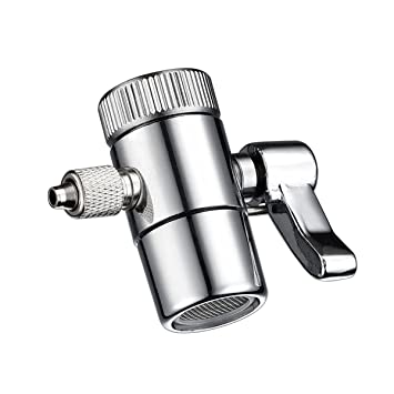 Ciencia Brass Chrome Diverter Metal Faucet Aerator Dual Diverter