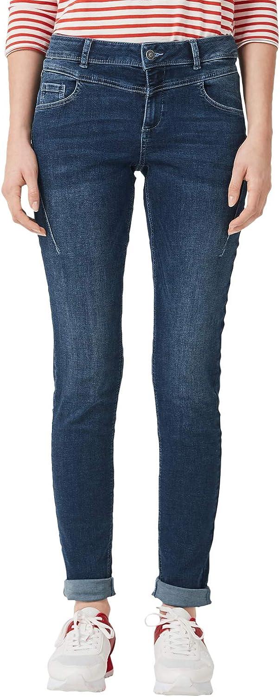 s.Oliver Shape Super Skinny Jeans Slim Fit Blue Denim Stretch Damen Hose L32 NEU
