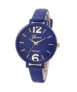 WILLTOO 2016 Women Stylish Numerals Faux Leather Analog Wrist Watch Brown