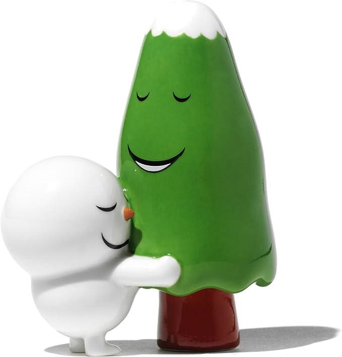 A di Alessi The Hug Tree Figurine en porcelaine decoré à la main