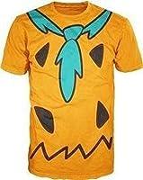 The Flintstones Fred Costume Orange men T-shirt