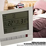 Central Air Conditioning Thermostat LCD Digital Display with Back Light