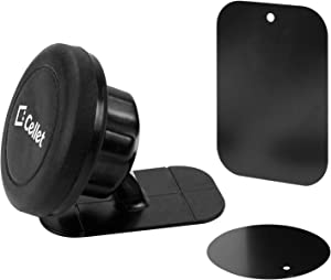 Magnetic Dash Mount Phone Holder in your Car or Truck fits HTC One M8 with Otterbox Defender Case on it.