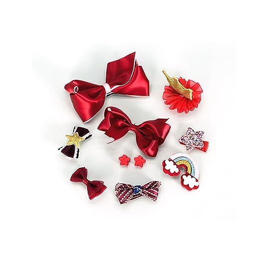 FTHIYK Corea Chica Headwear Corona Clip De Pelo Arco Clip ...