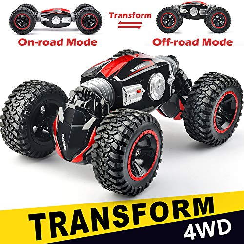 NQD RC Car Off-Road Vehicles Rock Crawler 2.4Ghz Remote Control Car Monster Truck 4WD Dual Motors Electric Racing Car, Kids Toys RTR Rechargeable Buggy Hobby - Racing Control Rc Car