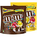 M&M'S Milk Chocolate and Peanut Candy Mix Party Size 42-Ounce Bag (Pack of 2)