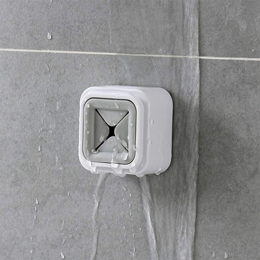 5.6*3.7*5.6cm Toallero para almacenamiento incluso en la cocina o el ba/ño Gancho adhesivo para toalla Linpu Blanco Toalla de mano con clip sin perforaciones