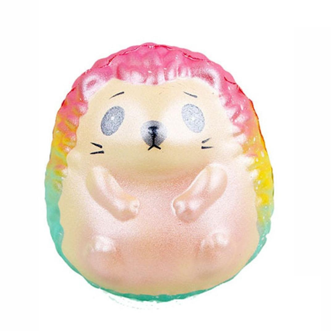 Lavany Squishies Jumbo Hedgehog Toys,Cute Animals Squishy Slow Rising Jumbo Squishies Toy Scented Squeeze Toy for Adult Party (Hedgehog ◆10x7cm)
