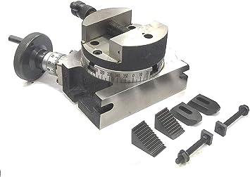 Mesa giratoria de 100 mm con inserción, vertical, de precisión ...