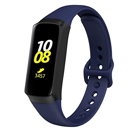 NotoCity for Samsung Galaxy Fit Band, Soft Silicone Strap Sport Replacement Band for Samsung Galaxy Fit SM-R370 Fitness Smartwatch, not Compatible ...