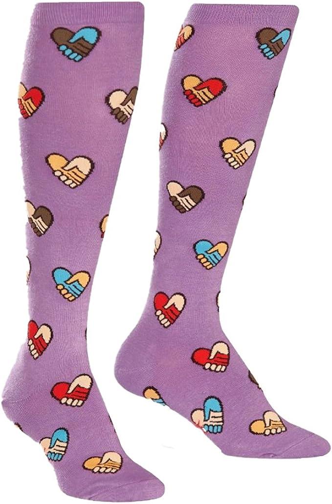 Sock It To Me Nutcracker Knee High Socks fun and funky themed socks BRAND NEW